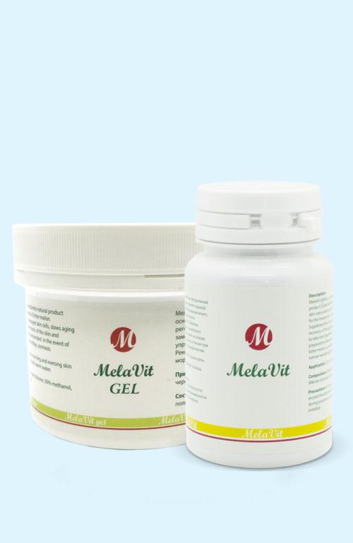 Гель и таблетки Мелавит